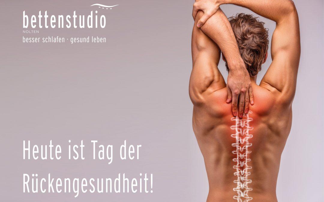 Heute ist Tag der Rückengesundheit!